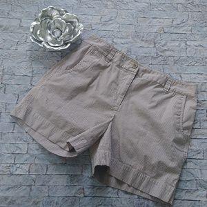"Nautica Striped 5"" Shorts Size 12"